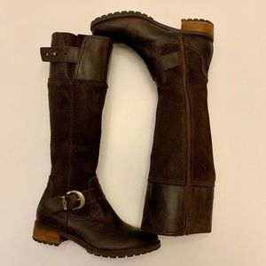 TIMBERLAND Earthkeepers Brown Bethel Buckle Boots